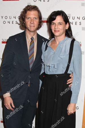 Jake Paltrow (Director) and wife Taryn Simon