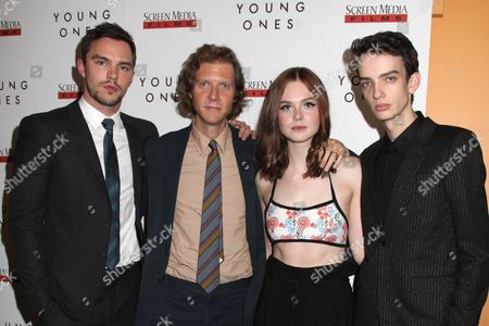 Editorial picture of 'Young Ones' film premiere, New York, America - 09 Oct 2014