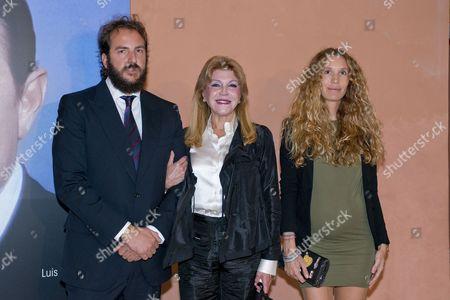 Borja Thyssen, Baroness Carmen Von Thyssen-Bornemisza and Blaca Cuesta