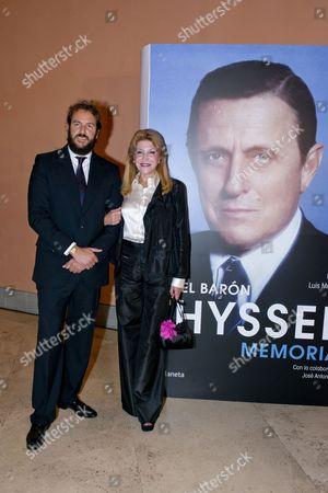 Borja Thyssen and Baroness Carmen Von Thyssen-Bornemisza
