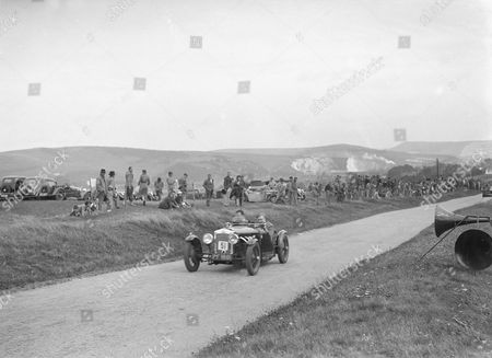 Frazer-Nash 1926 1496 cc. Vehicle Reg. No. PF1861. Event Entry No: 51 Driver: Clarke, J.G. Finished: 1st., 1500 sports car class. Chassis No. 1094. Boulogne, S.v. Anzani engine. Place: . Lewes Speed Trials. Date: 20.8.38.