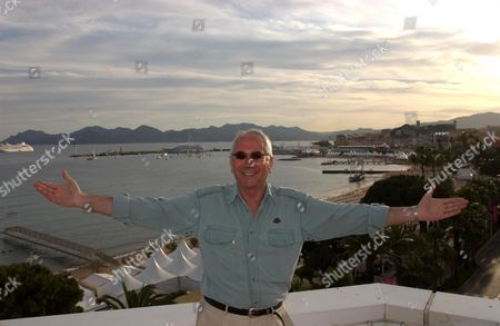 Marc Dorcel, the French pornographer, in Cannes during the 2003 Hot D'Or Film Festival