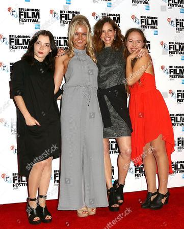 Marama Corlett, Hannah Spearritt, Sienna Guillory, Rosa French