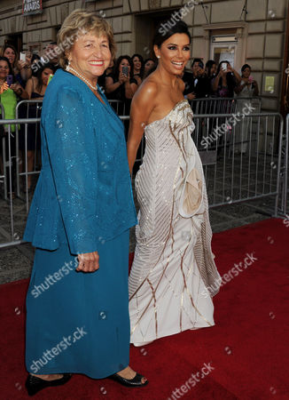 Eva Longoria and her mother Ella Eva Mireles