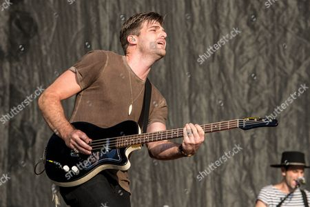Stock Photo of Foster The People - Cubbie Fink