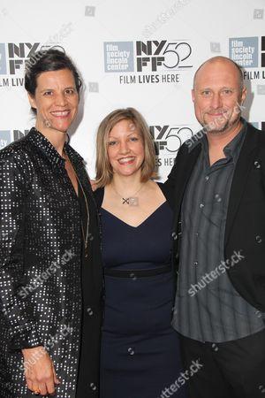 Kirsten Johnson, Katy Scoggin, Trevor Paglen at the Citzenfour film screening