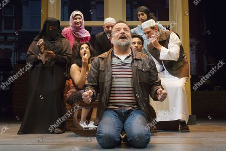 Kev Orkian as Mahmoud at the front