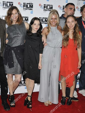 Stock Picture of Sienna Guillory, Marama Corlett, Hannah Spearritt and Rosa French