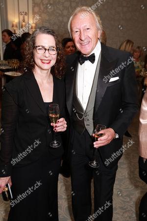 Dr Frances Corner and Harold Tillman