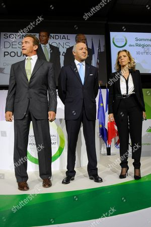 Editorial image of Global Summit of the Regions for Climate Change, Paris, France - 11 Oct 2014