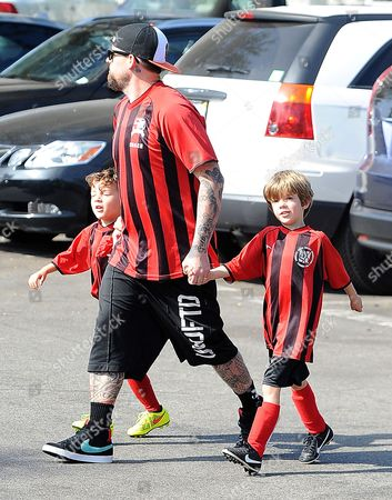 Joel Madden and Sparrow Madden