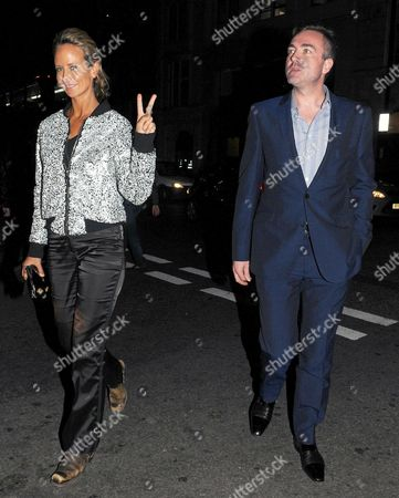 Editorial image of Lady Victoria Harvey out and about, London, Britain - 11 Oct 2014