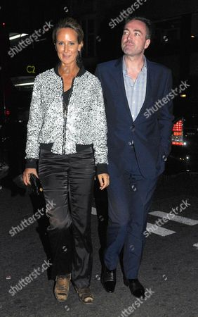 Editorial picture of Lady Victoria Harvey out and about, London, Britain - 11 Oct 2014