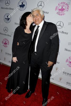 Jay Leno & wife Mavis Leno