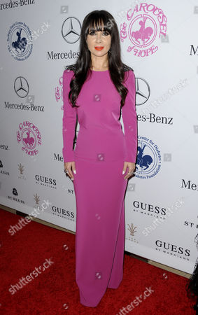 Editorial picture of Carousel of Hope Ball, Benefitting the Barbara Davis Center for Childhood Diabetes, Los Angeles, America - 11 Oct 2014