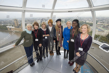 Editorial photo of International Day of the Girl event, London Eye, Britain - 10 Oct 2014