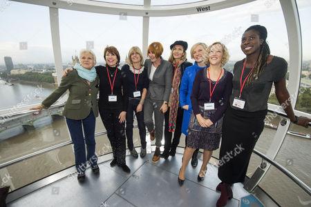 Julie Walters, Mary Portas, Natasha McElhone, Christina Ohuruogu, Stella Creasy MP, Rachel Johnson, Cathy Newman and Kathy Lette