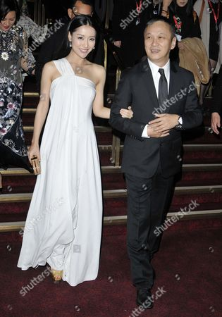 Michelle Bai and director Teddy Chen
