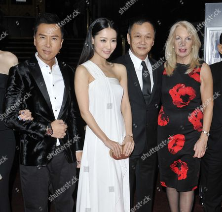 Donnie Yen, Michelle Bai, director Teddy Chen and Amanda Neville