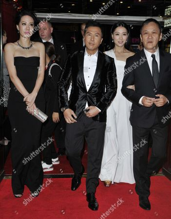 Editorial picture of 'Kung Fu Jungle' film screening, 58th BFI London Film Festival, London, Britain - 12 Oct 2014