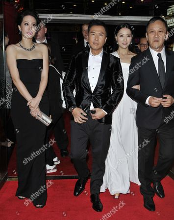 Cecilia Wang, Donnie Yen, Michelle Bai and director Teddy Chen