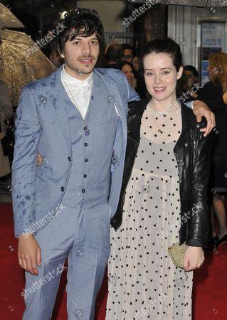 Dimitri Leonidas and Claire Foy