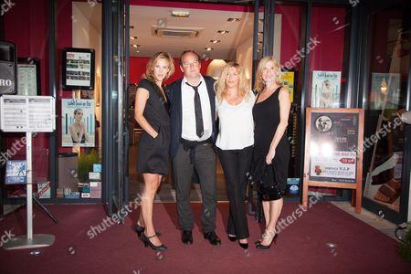 Jury Members Xavier Beauvois, Marie Kremer, Michele Laroque and Stephanie Murat