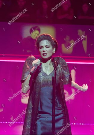 Stock Picture of Natalie Mendoza as Imelda Marcos