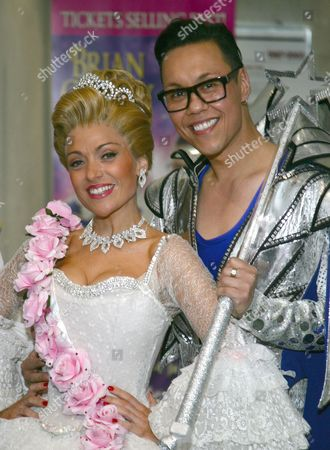 Kathryn Rooney & Gok Wan as Cinderella and The fairy Gokmother