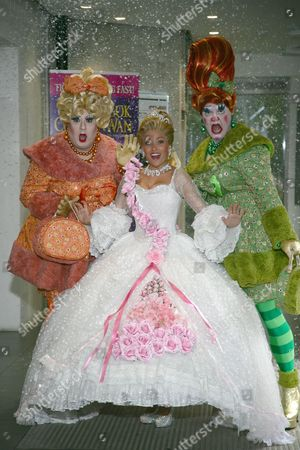 The Ugly Sisters & Kathryn Rooney as Cinderella