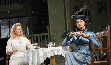 'The Importance of Being Earnest' - Christine Kavanagh (Cicely Cardew) and Cherie Lunghi (Gwendolen Fairfax)