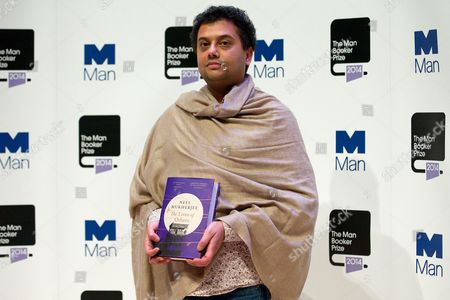 Neel Mukherjee with his novel 'The Lives of Others'