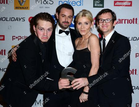 Editorial picture of Attitude Magazine Awards, London, Britain - 13 Oct 2014