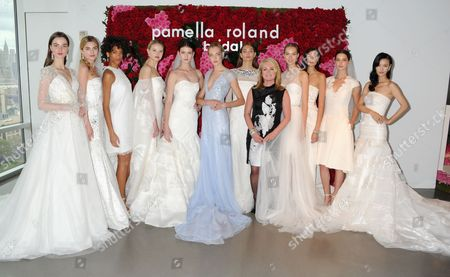 Fashion Designer Pamella DeVos with models