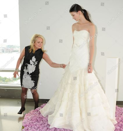 Fashion Designer Pamella DeVos with model