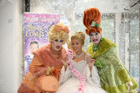 Kathryn Rooney (Cinderella) with her Ugly Sisters