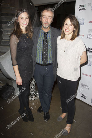 Rebecca Night (Yelena), John Hannah (Vanya) and Amanda Hale (Sonya)
