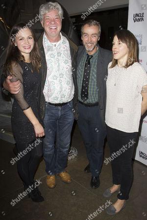 Rebecca Night (Yelena), Matthew Kelly, John Hannah (Vanya) and Amanda Hale (Sonya)