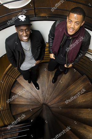 Editorial picture of Norwegian duo Nico & Vinz, Stockholm, Sweden - 30 Sep 2014