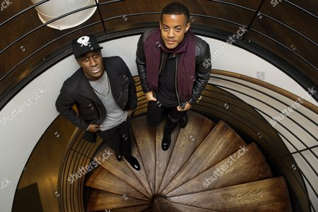 Norwegian duo Nico & Vinz, Nico Sereba and Vincent Dery