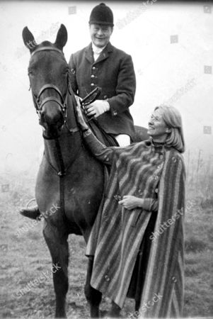 EARL BATHURST WHO CHASED PRINCE WILLIAM AFTER A POLO MATCH AT SPEEDS OF 55 MPH FOR FLOUTING THE CLUB'S RULES AND OVERTAKING HIM ON THE EXIT ROAD OVER 20MPH. THE EARL OWNS CIRENCESTER POLO CLUB WHERE IT HAPPENED. PICTURED WITH HIS WIFE