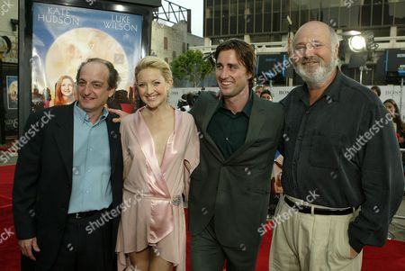David Paymer, Kate Hudson, Luke Wilson & Rob Reiner