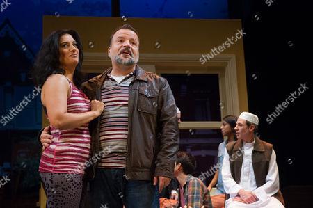 Mina Anwar and Kev Orkian