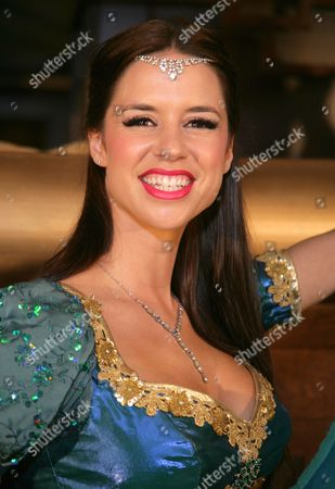 Stock Photo of Djalenga Scott as The Genie of The Ring