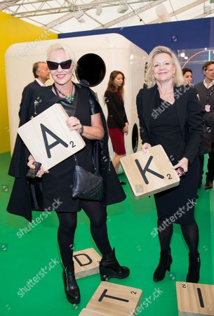 Amanda Eliasch and Kay Saatchi