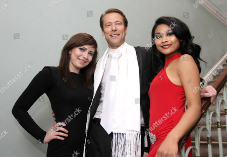 Stock Picture of Edward Davenport, Monthira Sanan-Ua and PA