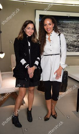 Dana Farouki and Princess Alia Al-Senussi