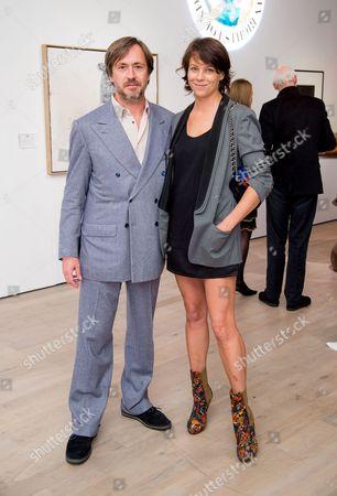 Mark Newson and Charlotte Stockdale