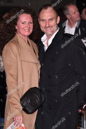 Producer Tyrone Walker-Hebborn and wife Caroline
