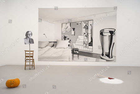 Stock Picture of Works by Darren Bader